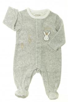 vetements d occasion bébé Pyjama-Dors-bien en velours