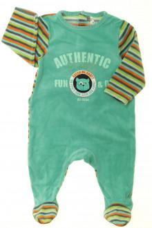Habits pour bébé Pyjama-Dors-bien en velours