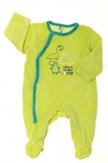 habits bébé Pyjama-Dors-bien en velours