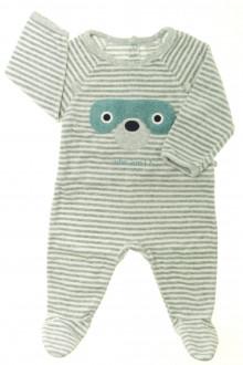 Habit de bébé d'occasion Pyjama-Dors-bien en velours