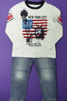 vetement enfant occasion Ensemble jean et tee-shirt Gap 4 ans Gap
