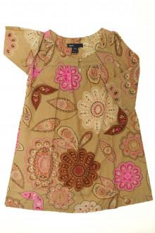vêtement enfant occasion Robe en velours fin fleurie Gap 5 ans Gap