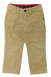 vetement enfant occasion Pantalon en velours fin Jacadi 2 ans Jacadi