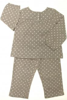 vetement occasion enfants Pyjama en coton étoilé Cyrillus 4 ans Cyrillus