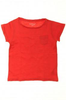 vetement d'occasion Tee-shirt manches courtes Monoprix 4 ans Monoprix