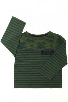 vetement enfants occasion Tee-shirt manches longues rayé Z 4 ans Z