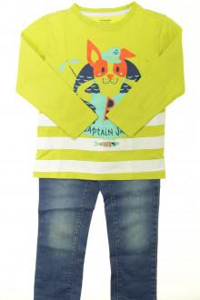 vetement occasion enfants Ensemble jean et tee-shirt Vertbaudet 5 ans Vertbaudet