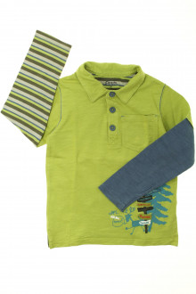 vetement marque occasion Polo manches longues La Compagnie des Petits 4 ans La Compagnie des Petits