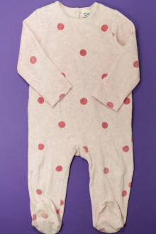 vetements enfants d occasion Pyjama/Dors-bien à pois en velours  Tape à l'œil 3 ans Tape à l'œil