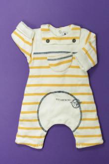 Habits pour bébé Combinaison molletonnée Sucre d'Orge 1 mois Sucre d'Orge