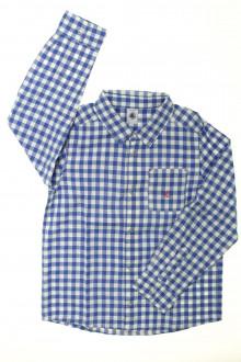 vetements enfants d occasion Chemise Vichy Petit Bateau 8 ans Petit Bateau