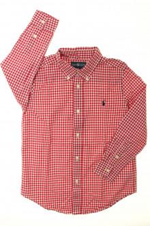 vetements enfant occasion Chemise à petits carreaux Ralph Lauren 6 ans Ralph Lauren