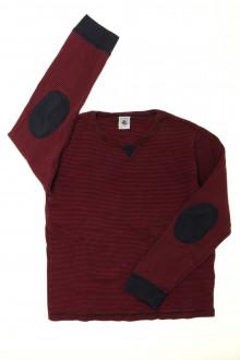 vêtements enfants occasion Tee-shirt manches longues milleraies Petit Bateau 8 ans Petit Bateau