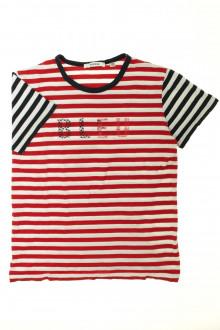 vetement d'occasion Tee-shirt rayé manches courtes Marèse 10 ans Marèse