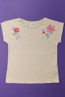 vêtement enfant occasion Tee-shirt manches courtes brodé Tape à l'œil 4 ans Tape à l'œil