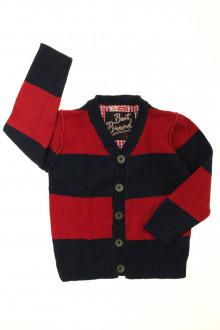 vêtements occasion enfants Cardigan à rayures DPAM 3 ans DPAM