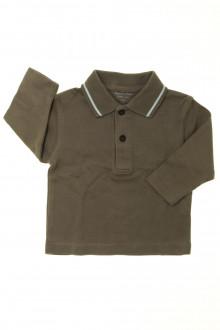habits bébé occasion Polo manches longues Bout'Chou 9 mois Bout'Chou