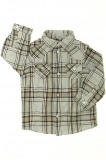 vêtements bébés Chemise chaude à carreaux Bout'Chou 18 mois Bout'Chou