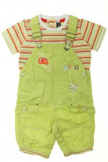 Habits pour bébé Ensemble salopette et tee-shirt Sergent Major 18 mois Sergent Major