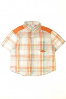vêtements occasion enfants Chemisette à carreaux Obaïbi 3 ans Obaïbi