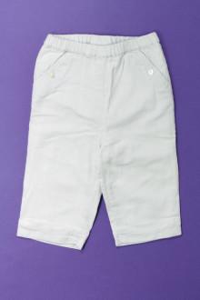 vetements d occasion bébé Pantalon à fines rayures Cyrillus 3 mois Cyrillus