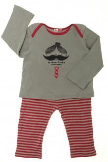 Habit de bébé d'occasion Pyjama en coton