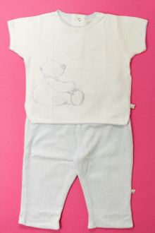 vetements d occasion bébé Ensemble tee-shirt et pantalon Noukie's 12 mois Noukie's