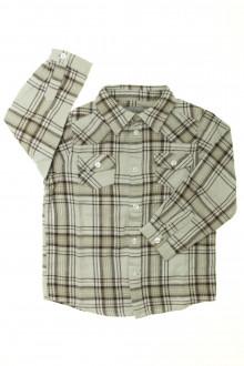vêtement enfant occasion Chemise chaude à carreaux Bout'Chou 3 ans Bout'Chou