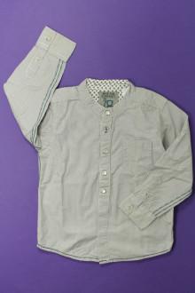 vêtements enfants occasion Chemise à fines rayures Obaïbi 3 ans Obaïbi