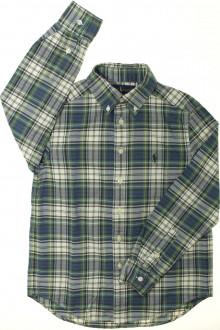 vetement occasion enfants Chemise à carreaux Ralph Lauren 8 ans Ralph Lauren