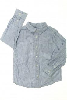 vetement occasion enfants Chemise à fines rayures Monoprix 5 ans Monoprix