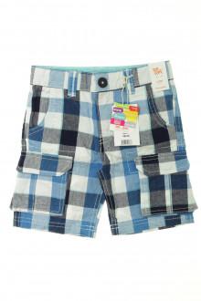 vêtements occasion enfants Bermuda à carreaux - NEUF DPAM 3 ans DPAM
