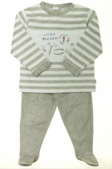 vetement occasion enfants Pyjama à pieds en velours