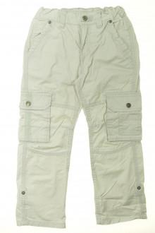 vêtements occasion enfants Pantalon en toile à fines rayures Tape à l'œil 8 ans Tape à l'œil