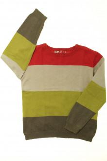 vêtement enfant occasion Pull à rayures DPAM 5 ans DPAM