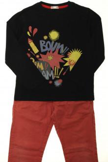 vêtements d occasion enfants Ensemble chino et tee-shirt DPAM 6 ans DPAM