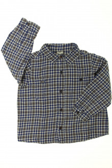 vêtements occasion enfants Chemise à carreaux Bonton 4 ans Bonton
