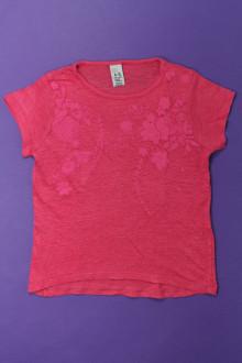 vetement occasion enfants Tee-shirt manches courtes fleuri Zara 5 ans Zara
