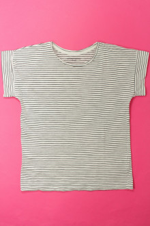 vêtements enfants occasion Tee-shirt manches courtes rayé Monoprix 10 ans Monoprix