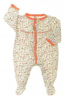 vetement bébé d occasion Pyjama/Dors-bien fleuri en coton Orchestra 3 mois Orchestra