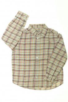 vetement occasion enfants Chemise à carreaux Cyrillus 6 ans Cyrillus