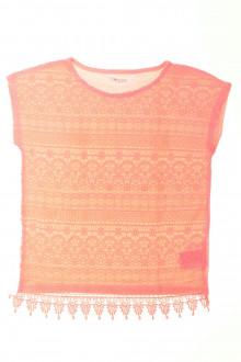 vetement  occasion Tee-shirt manches courtes crocheté H&M 8 ans H&M