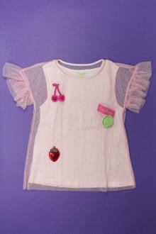 vetement occasion enfants Tee-shirt manches courtes en tulle Zara 7 ans Zara