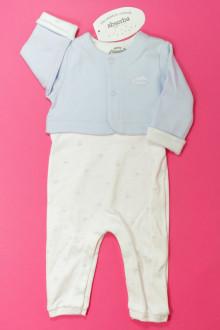 vêtements bébés Ensemble dors-bien et brassière - NEUF Absorba 1 mois Absorba
