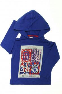 vetement occasion enfants Tee-shirt manches longues à capuche DPAM 5 ans DPAM