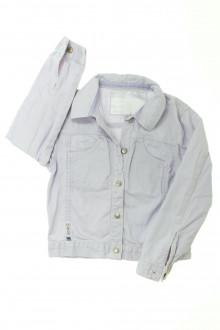 vetement occasion enfants Veste en jean de couleur Okaïdi 6 ans Okaïdi
