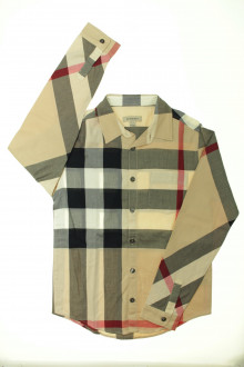 vetement  occasion Chemise tartan Burberry 10 ans Burberry