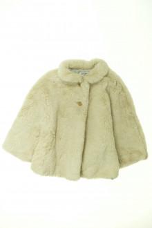 vetement occasion enfants Poncho en fourrure Zara 3 ans Zara