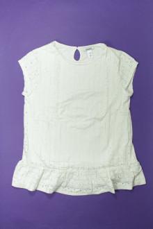 vetements enfants d occasion Tee-shirt ajouré manches courtes - 14 ans Okaïdi 12 ans Okaïdi