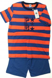 vetement d'occasion enfants Pyjama court à rayures - NEUF Petit Bateau 12 ans  Petit Bateau